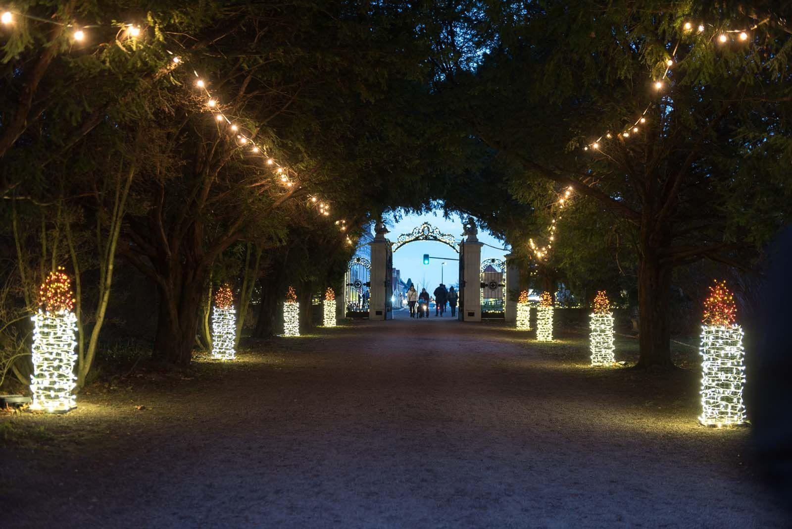 Hochwertige Weihnachtsbeleuchtung.Weihnachtsbeleuchtung Weihnachtsmarkt Lichtideen